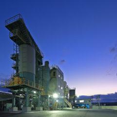 鹿島道路 プラント工場